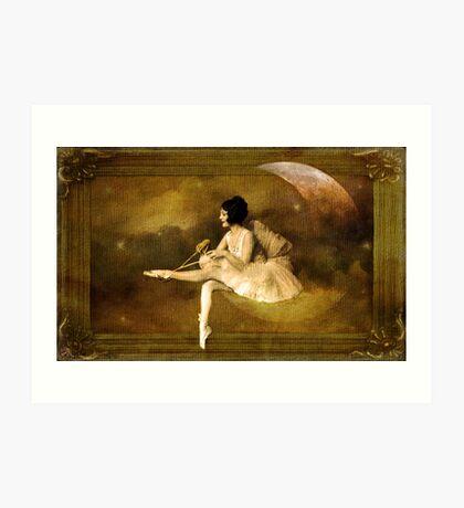 Clair de lune Kunstdruck