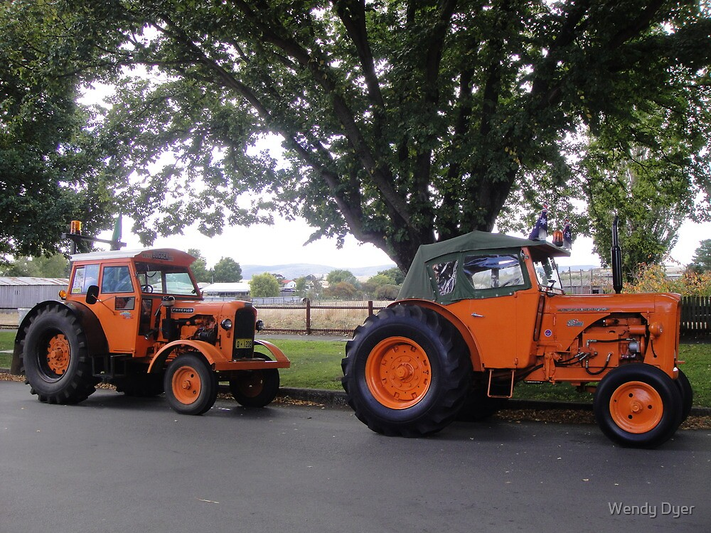 Chamberlain Tractors in Ross by Wendy Dyer