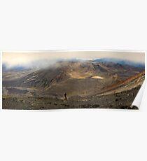 Mt Tongariro Pano Poster