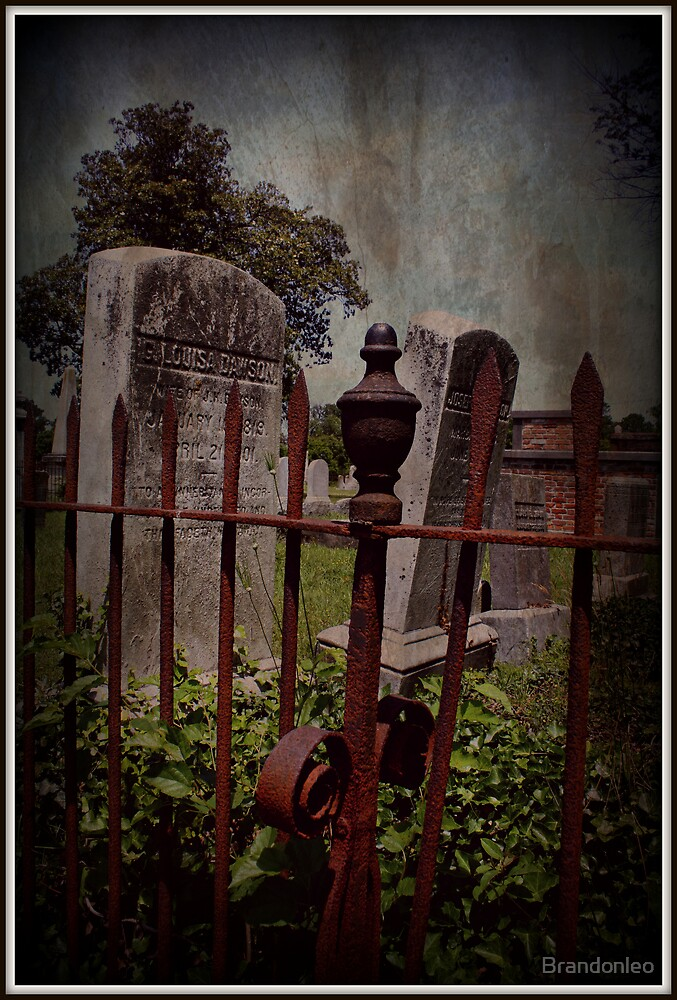 Iron and Headstone  by Brandonleo