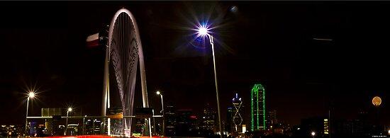 The New Dallas Skyline by Rafiul Alam