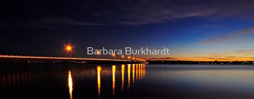 The Crossing - Bribie Island Bridge by Barbara Burkhardt