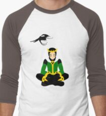 A boy and his magpie (cowl on) T-Shirt