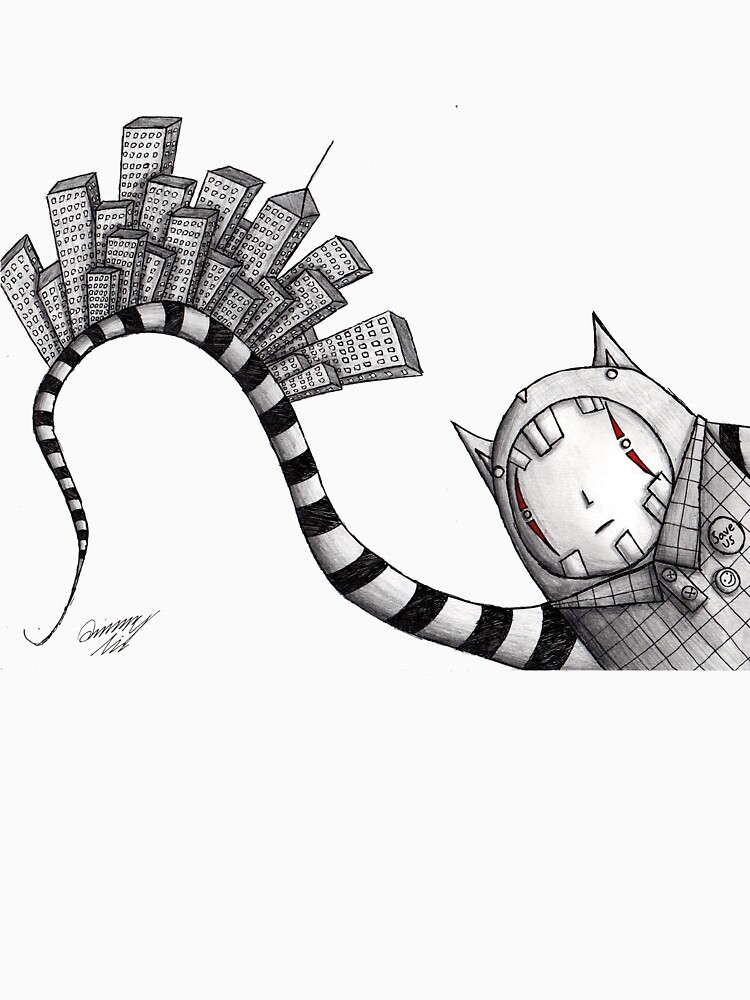 Uninhabitable City by QuincyLim