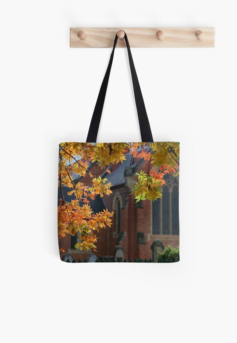 Autumn church by Robyn Selem