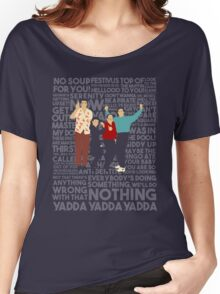 A Shirt About Nothing Women's Relaxed Fit T-Shirt