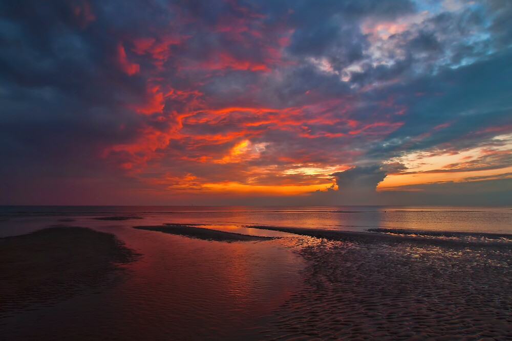 Sky's on Fire by Roger Green