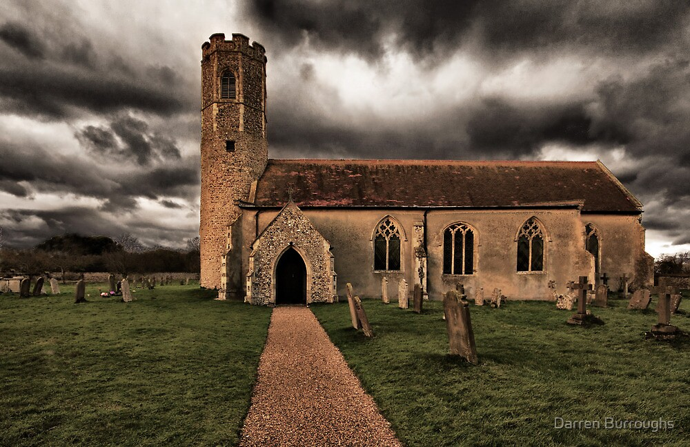 All Saints Church Woodton by Darren Burroughs