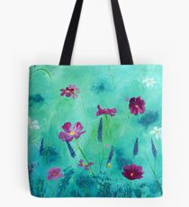 Meadow Moment in Acrylics Tote Bag
