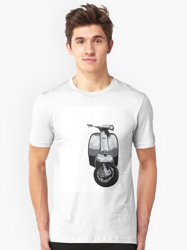 Lambretta pop art. Unisex T-Shirt Front