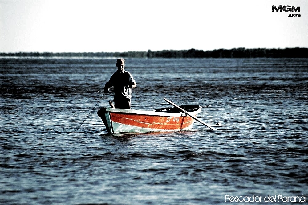 Pescador del Parana by chuppamelaceja