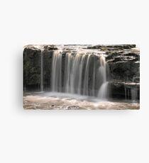 Aysgarth - High Fall 3 of 3 Canvas Print