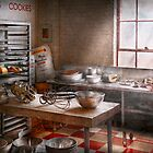Baker - Kitchen - The commercial bakery  by Michael Savad