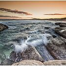 Sunset Central Coast NSW by Andy Eftichiou
