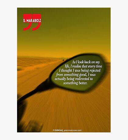 Steve Maraboli's Inspirational Quote Photographic Print