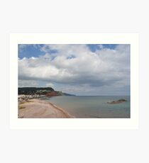Costal View Art Print
