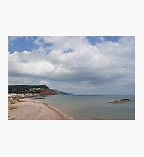Costal View Photographic Print