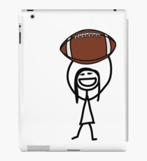 Football fan girl  iPad Case/Skin