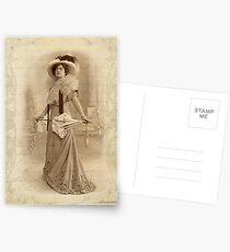 Vintage Lady Postcards