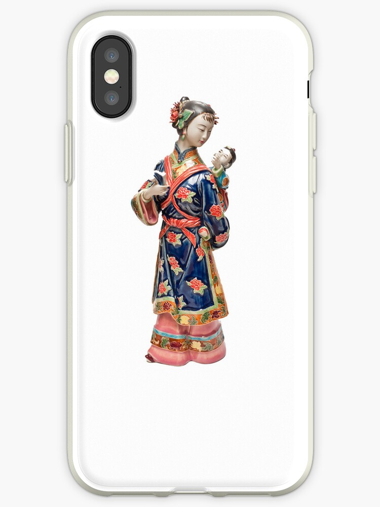 Oriental Lady with Child by Steve Purnell