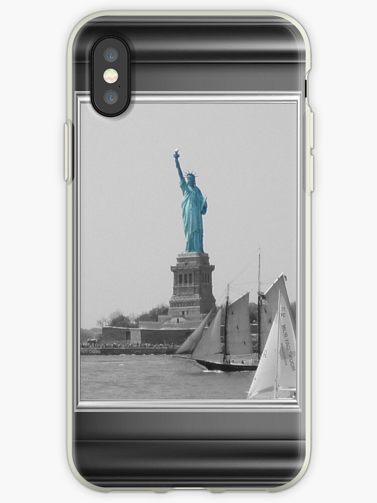 Statue of Liberty Color Splash iPhone 4/4s case by jesse421