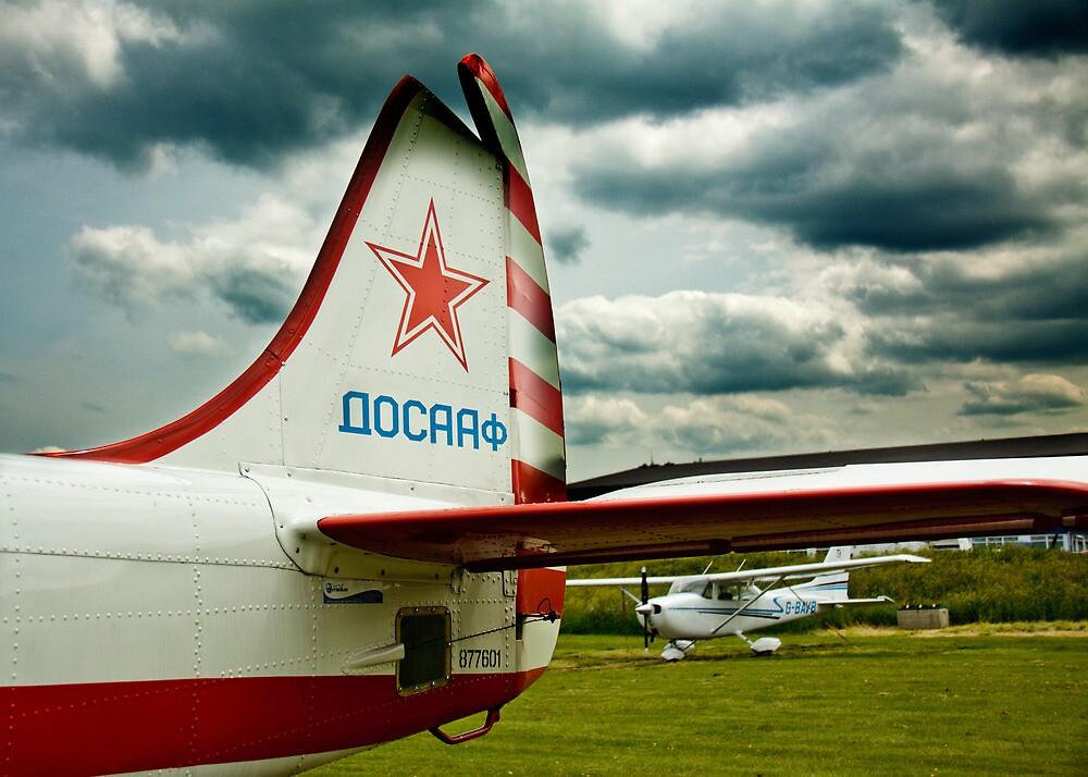 Russian Tailfin by Michael Baker