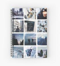 Tumblr Indie Photos Spiral Notebook