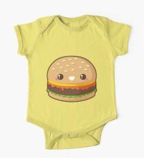 Cheeseburger Kawaii Body - Manches courtes