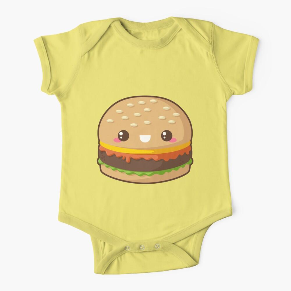 Kawaii Cheeseburger Baby One-Piece