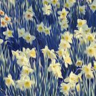 White Daffodils  by leapdaybride