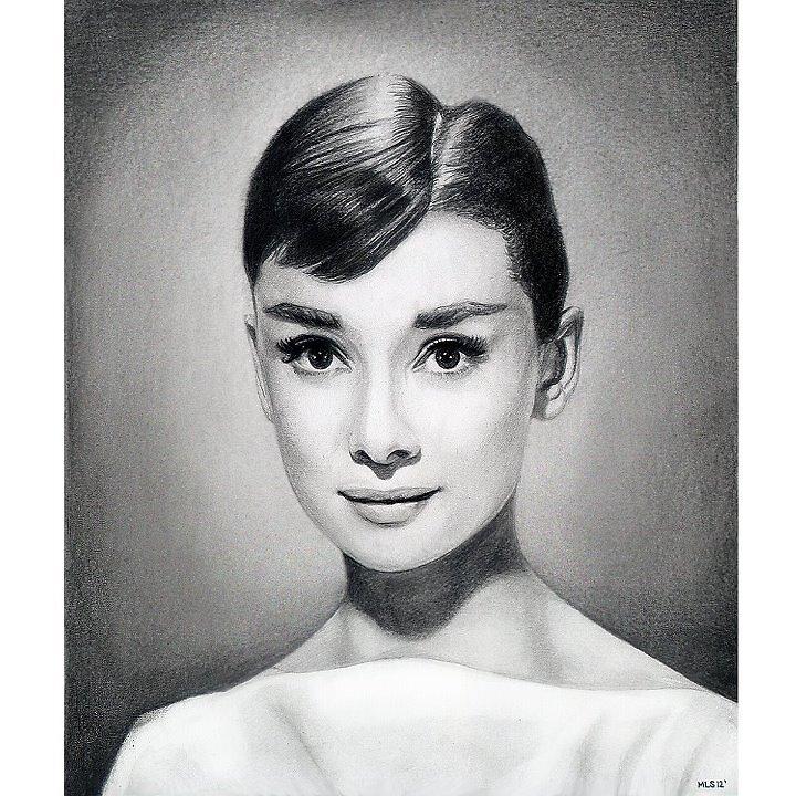 Audrey Hepburn by Martin Lynch-Smith