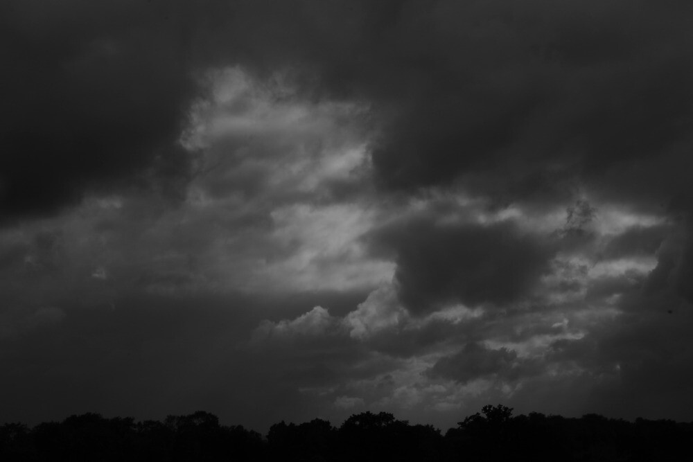 Rain over the hills 2 by Aaron  Wahab
