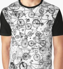 Bicycles Graphic T-Shirt