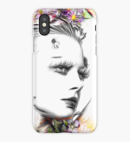 """If you are going to San Francisco, be sure to wear some flowers in your hair"" iPhone Case"