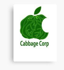 Legend of Korra Avatar Cabbage Corp Canvas Print