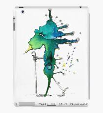M. Le Grand takes his daily promenade iPad Case/Skin