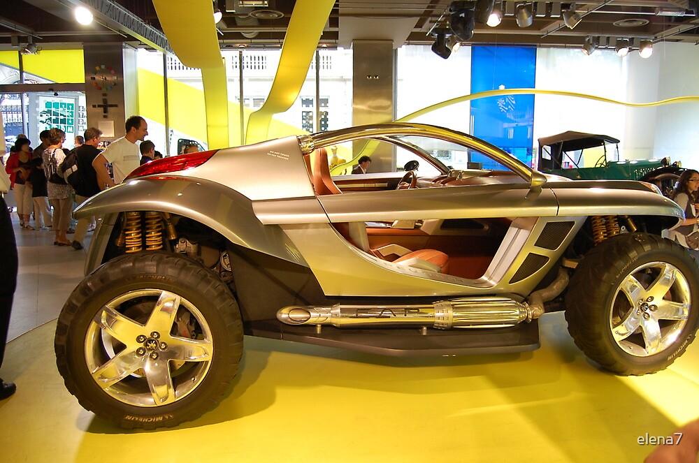 futuristic car by elena7