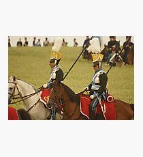 British Lancers Photographic Print