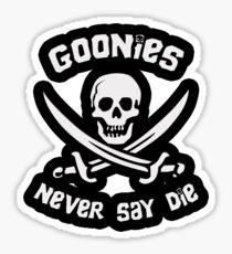 Pegatina Goonies Never Say Die