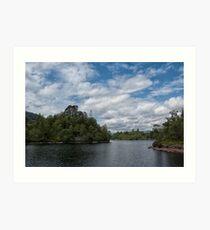 Loch Katrine Art Print