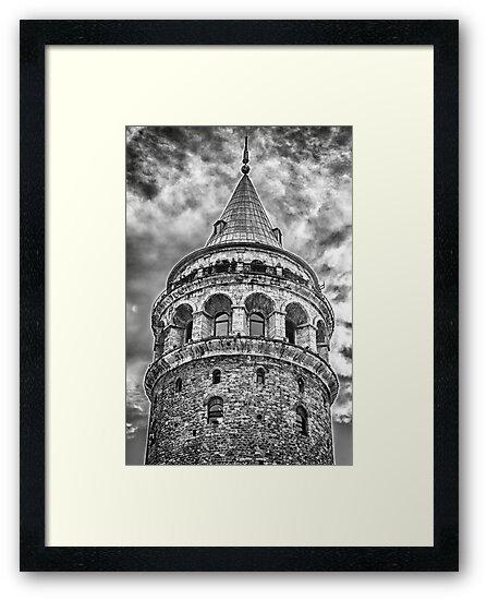 Galata Tower by Asif Patel