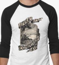 Apple Computer Co.   First logo Men's Baseball ¾ T-Shirt
