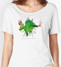 Patrick the timid dragon Women's Relaxed Fit T-Shirt