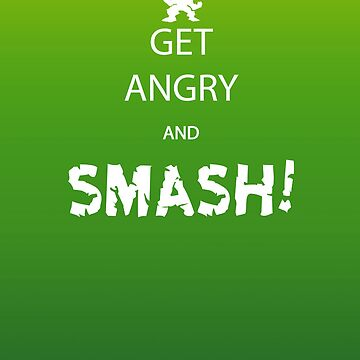 Get Angry and Smash! by Iainmaynard