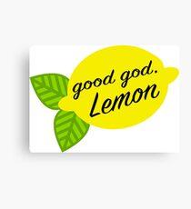 Good God, Lemon Canvas Print