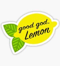 Good God, Lemon Sticker