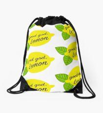 Good God, Lemon Drawstring Bag