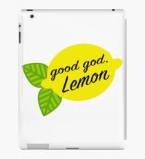 Good God, Lemon iPad Case/Skin