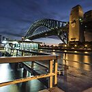 Sydney Harbour Skyline Australia by Andy Eftichiou