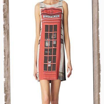 London print - Fashion (telephone box) by HowardWalsh